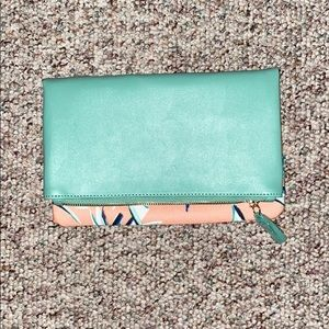 Rachel Pally small folded clutch
